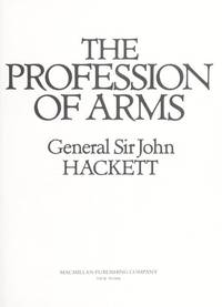 The Profession of Arms