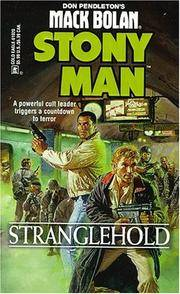 Stranglehold (Mack Bolan-Stony Man, No 36) by DON PENDLETON - Paperback - August 1998 - from The Book Nook (SKU: 630585)