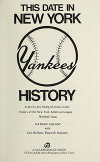 THIS DATE IN NEW YORK YANKEES HISTORY