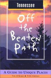 image of Tennessee Off the Beaten Path: A Guide to Unique Places (Off the Beaten Path Series)
