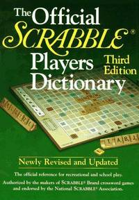 The Official SCRABBLE Players Dictionary by Merriam-Webster - Hardcover - Hardcover - from Paddyme Books and Biblio.com