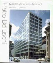 Pietro Belluschi: Modern American Architect by Clausen, Meredith L