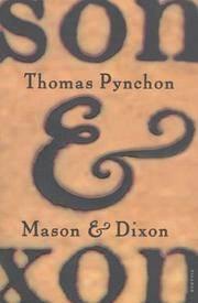 image of Mason & Dixon: A Novel