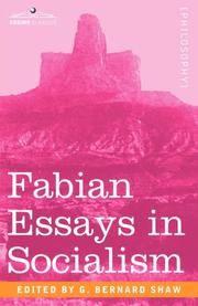 Fabian Essays in Socialism