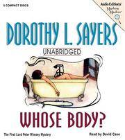 image of Whose Body?: The First Lord Peter Wimsey Mystery (Mystery Masters)