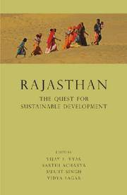 Rajasthan: The Quest for Sustainable Development