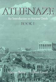 Athenaze : An Introduction to Ancient Greek - Book I