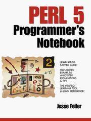 Perl 5 Programmer's Notebook