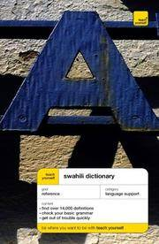 Swahili Dictionary (TY Dictionaries)