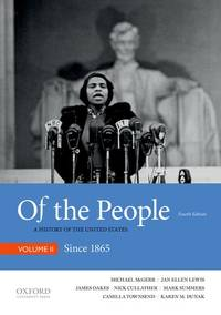 image of Of the People: A History of the United States: Since 1865