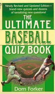 The Ultimate Baseball Quiz Book Second Revised Edition