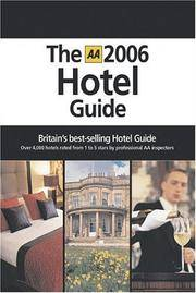 AA Hotel Guide 2006