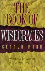 The Book of Wisecracks : Windows of Wisdom for Living Well