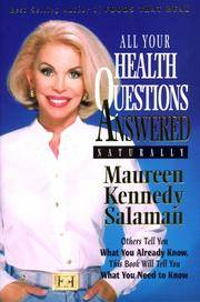 All Your Health Questions Answered Naturally