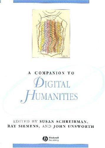 A companion to digital humanities
