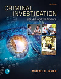 image of Criminal Investigation: The Art and the Science, Paperback, 9th edition.