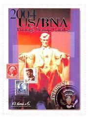 U. S. Bna Postage Stamp Catalog 2004