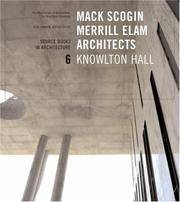 Mack Scogin, Merrill Elam: Knowlton Hall (Source Books in Architecture)  (SIGNED)