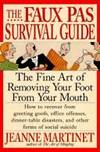 The Faux Pas Survival Guide