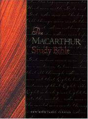 The MacArthur Study Bible, Large Print Edition.  New King James Version