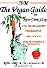 The Vegan Guide to New York City 2008