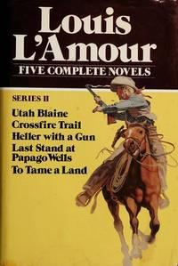Louis Lamour 2nd Series: 5 Complete Novels - w/ Dust Jacket!