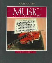 Music : An Appreciation-Student Brief (Paperback Book Only)
