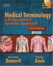 image of Medical Terminology: A Programmed Systems Approach Revised