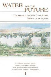 Water for the Future: The West Bank and Gaza Strip, Israel, and Jordan