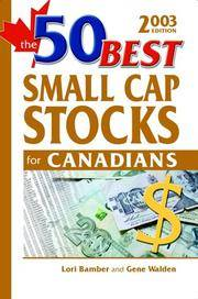 The 50 Best Small Cap Stocks for Canadians, 2003