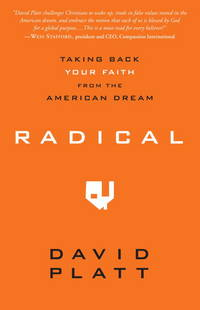 Radical: Taking Back Your Faith from the American Dream by  David Platt - Paperback - 2010-05-04 - from Once Upon a Time Books (SKU: mon0000081456)