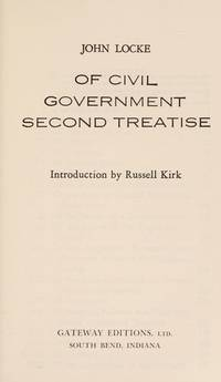 image of Of Civil Government : Second Treatise
