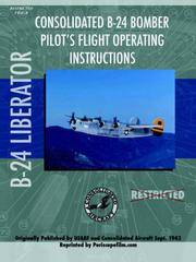 B-24 Liberator Bomber Pilots Flight Manual