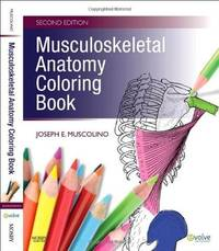 Musculoskeletal Anatomy Coloring Book
