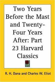 image of Two Years Before the Mast and Twenty-Four Years After: Part 23 Harvard Classics