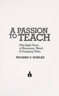 A Passion To Teach