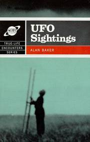 Ufo sightings - true life encounters series by  alan baker - Paperback - from Sixth Chamber Used Books/Fox Den Books and Biblio.com