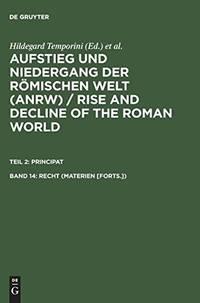 Principat, Vierzehnter Band: Recht (Materien [Forts.])