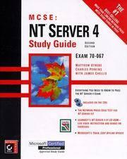 MCSE: NT Server 4 Study Guide, 2nd ed.