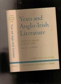 Yeats and Anglo-Irish Literature: Critical Essays