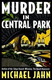 image of Murder in Central Park: A Bill Donovan Mystery (Bill Donovan Mysteries)