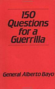 image of 150 Questions For A Guerrilla