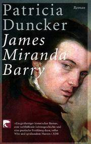 James Miranda Barry by  Patricia Duncker - Paperback - 2002 - from Leserstrahl (SKU: 71654)