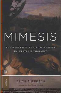 image of Mimesis; the Representation of Reality in Western Literature