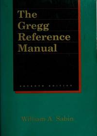 Gregg Reference Manual 7ED