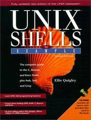 UNIX Shells by Example with CDROM by Quigley, Ellie