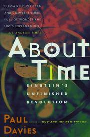 image of About Time: Einstein's Unfinished Revolution