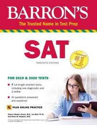SAT Premium Study Guide with 7 Practice Tests (Barron's Test Prep)