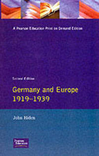 GERMANY AND EUROPE 1919-1939