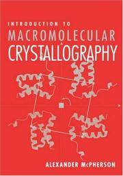 image of Introduction to Macromolecular Crystallography